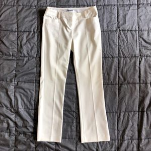 Express Columnist Pants 2S Cream